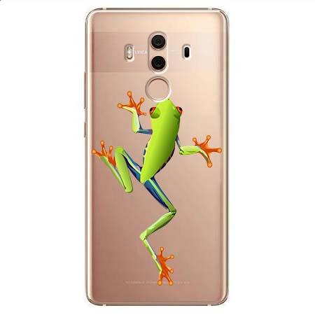 Etui na Huawei Mate 10 Pro - Zielona żabka.