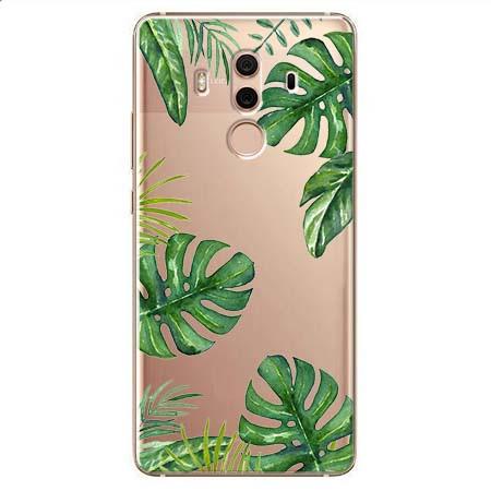 Etui na Huawei Mate 10 Pro - Egzotyczna roślina Monstera.