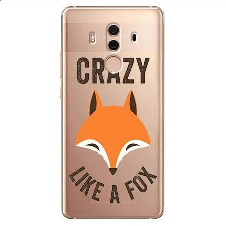 Etui na Huawei Mate 10 Pro - Crazy like a fox.