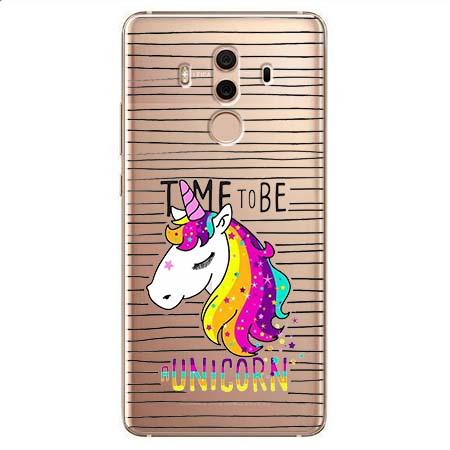 Etui na Huawei Mate 10 Pro - Time to be unicorn - Jednorożec.