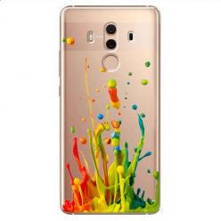 Etui na Huawei Mate 10 Pro - Kolorowy splash.