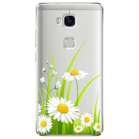 Etui na Huawei Honor 5X - Polne stokrotki.