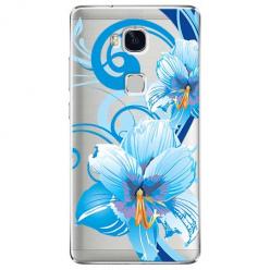 Etui na Huawei Honor 5X - Niebieski kwiat północy.