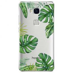 Etui na Huawei Honor 5X - Egzotyczna roślina Monstera.