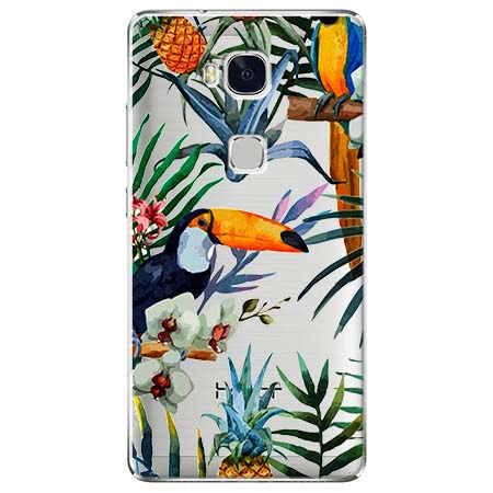 Etui na Huawei Honor 5X - Egzotyczne tukany.