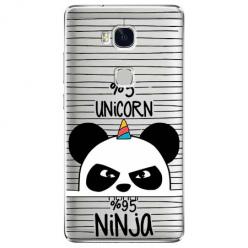 Etui na Huawei Honor 5X - Ninja Unicorn - Jednorożec.
