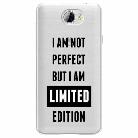 Etui na Huawei Y5 II - I Am not perfect…