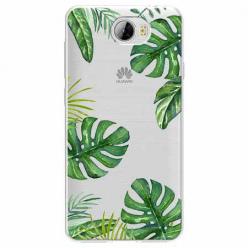 Etui na Huawei Y5 II - Egzotyczna roślina Monstera.