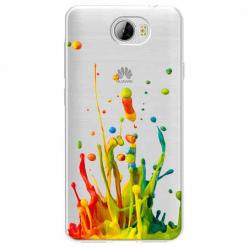 Etui na Huawei Y5 II - Kolorowy splash.