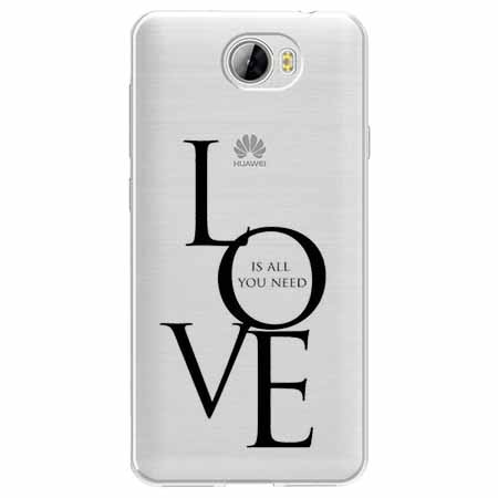 Etui na Huawei Y5 II - All you need is LOVE.