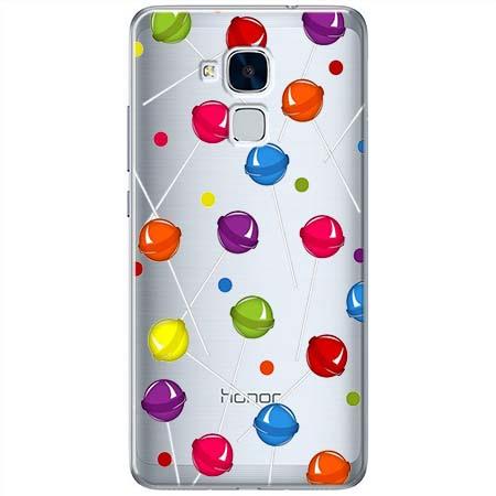 Etui na Huawei Honor 5C - Kolorowe lizaki.