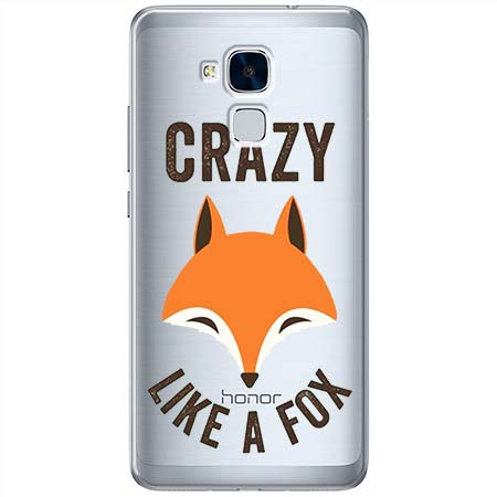 Etui na Huawei Honor 5C - Crazy like a fox.