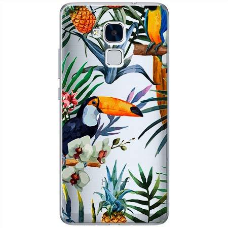 Etui na Huawei Honor 5C - Egzotyczne tukany.