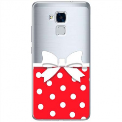 Etui na Huawei Honor 5C - Gustowna kokardka.