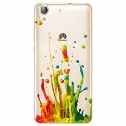 Etui na Huawei Y6 II - Kolorowy splash.