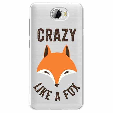 Etui na Huawei Y6 II Compact - Crazy like a fox.