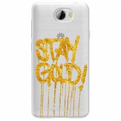 Etui na Huawei Y6 II Compact - Stay Gold.