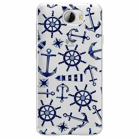 Etui na Huawei Y6 II Compact - Ahoj wilki morskie.