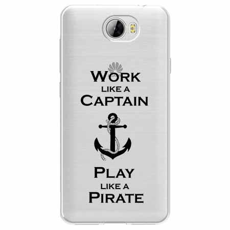 Etui na Huawei Y6 II Compact - Work like a Captain…