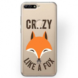 Etui na Huawei Y7 Prime 2018 - Crazy like a fox.
