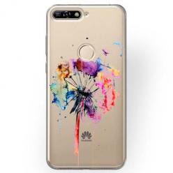 Etui na Huawei Y7 Prime 2018 - Watercolor dmuchawiec.