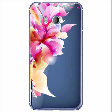 Etui na HTC U11 - Bajeczny kwiat.