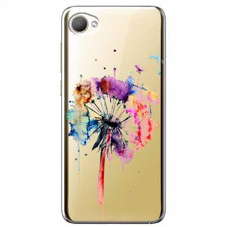 Etui na HTC Desire 12 - Watercolor dmuchawiec.