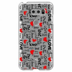 Etui na LG V30 - Love, love, love…
