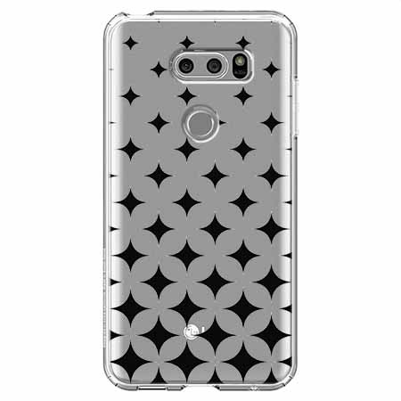 Etui na LG V30 - Diamentowy gradient.