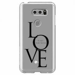Etui na LG V30 - All you need is LOVE.