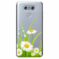 Etui na LG G6 - Polne stokrotki.