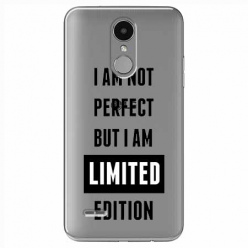Etui na LG K8 2017 - I Am not perfect…