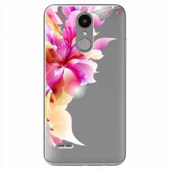 Etui na LG K8 2017 - Bajeczny kwiat.