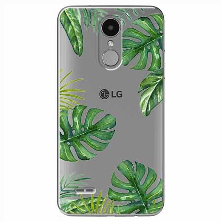 Etui na LG K8 2017 - Egzotyczna roślina Monstera
