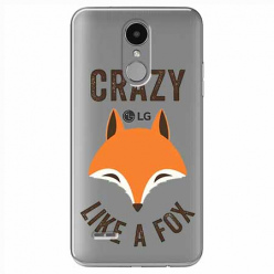 Etui na LG K8 2017 - Crazy like a fox.
