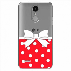Etui na LG K8 2017 - Gustowna kokardka.
