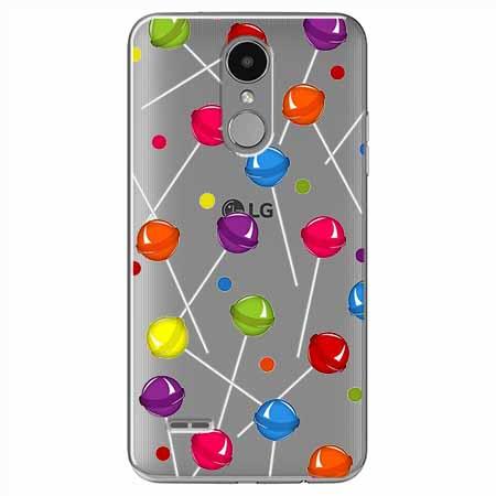 Etui na LG K4 2017 - Kolorowe lizaki.