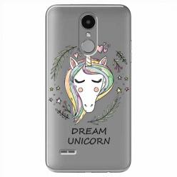 Etui na LG K4 2017 - Dream unicorn - Jednorożec.