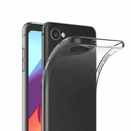 Etui na LG Q6 - Złota czterolistna koniczyna.