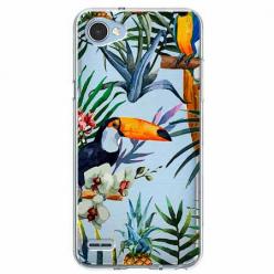 Etui na LG Q6 - Egzotyczne tukany.
