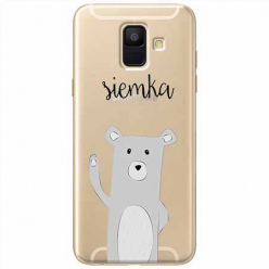 Etui na Samsung Galaxy A6 2018 - Misio Siemka.