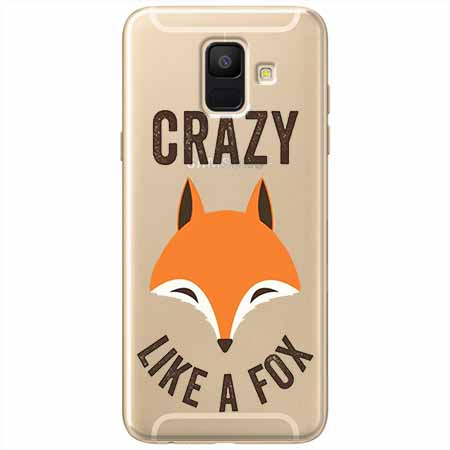 Etui na Samsung Galaxy A6 2018 - Crazy like a fox.