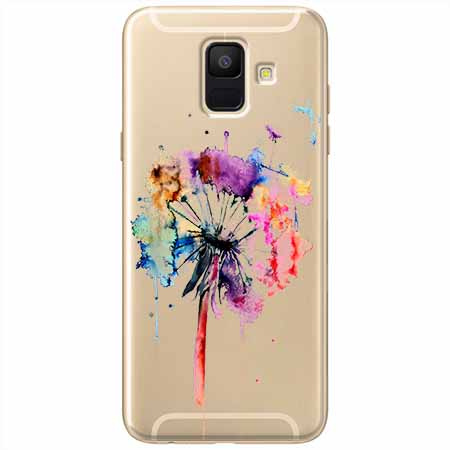 Etui na Samsung Galaxy A6 2018 - Watercolor dmuchawiec.