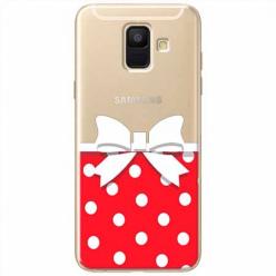 Etui na Samsung Galaxy A6 2018 - Gustowna kokardka.