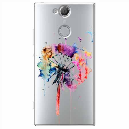 Etui na Sony Xperia XA2 - Watercolor dmuchawiec.