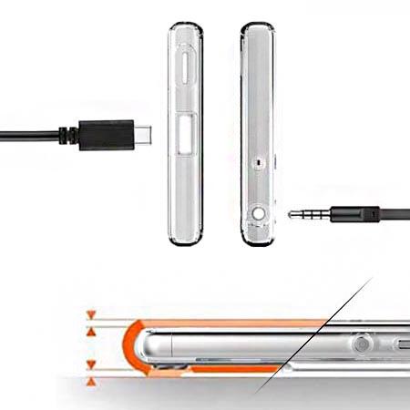 Etui na Sony Xperia L1 - Wiśniowa plejada.