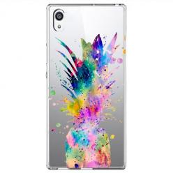 Etui na Sony Xperia L1 - Watercolor ananasowa eksplozja.