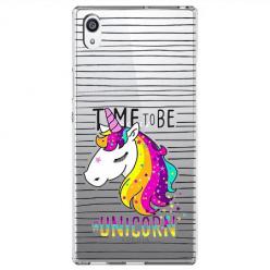 Etui na Sony Xperia L1 - Time to be unicorn - Jednorożec.