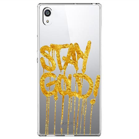 Etui na Sony Xperia L1 - Stay Gold.