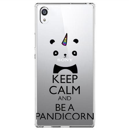 Etui na Sony Xperia XA1 Ultra - Keep Calm… Pandicorn.